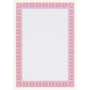 Certifikačný papier APLI A4 ružový 115g 25 hárkov