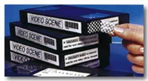 Bezpečnostná páska Brother TZe-SE4 18mm biela/čierna