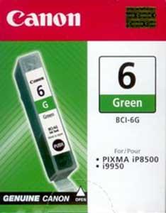 atrament Canon BCI-6G zelený