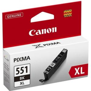 Atrament Canon CLI-551 BK XL black MG5450/6350, iP7250