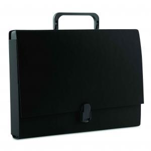 Aktovka kartónová s držadlom DONAU čierna