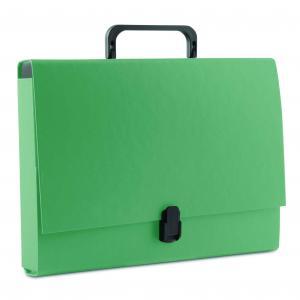 Aktovka kartónová s držadlom DONAU zelená