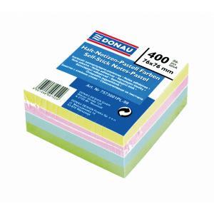 Bloček kocka samolepiaca pastelové farby 76x76mm
