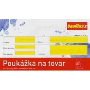Darčeková poukážka Hornbach 100 EUR