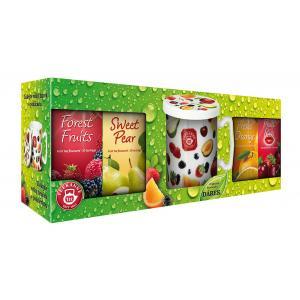 Darčekové balenie čajov Teekanne ON-Pack 4WOFčaje + hrnček