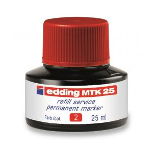 Atrament edding MTK 25 červený