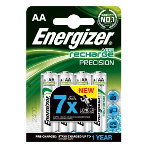 Batérie Energizer dobíjateľné AA-HR6/4 2400 mAh tužkové