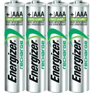 Batérie Energizer dobíjateľné AAA-HR03/4 800 mAh mikrotužkové