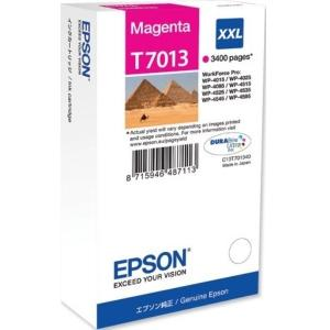 Atrament Epson T7013 magenta XXL C13T70134010 WP4000/WP4500