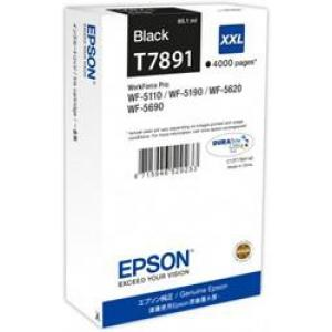 Atrament Epson C13T789140 black XXL WF5000