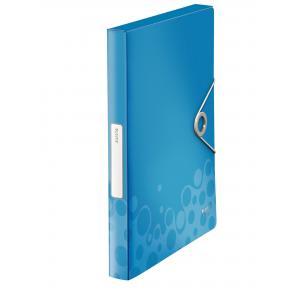 Plastový box s gumičkou Esselte Bebop modrý