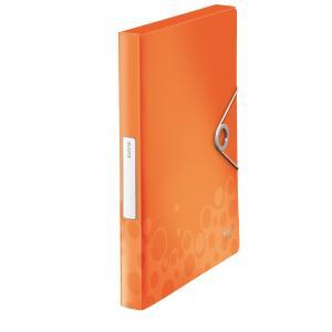 Plastový box s gumičkou Esselte Bebop oranžový