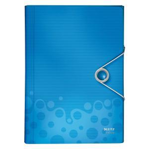 Aktovka plastová s priehradkami Esselte Bebop modrá