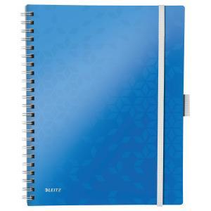 Blok poznámkový linajkový mobilný Leitz WOW A4 modrý