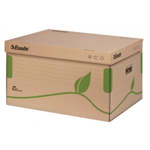 Archívna škatuľa s vekom Esselte ECO hnedá