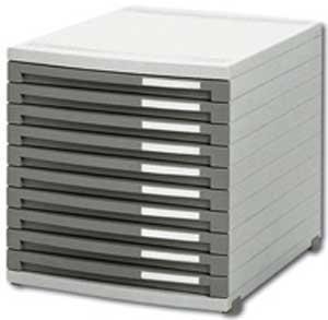 Zásuvkový box Contur 10 zatvorený 25mm