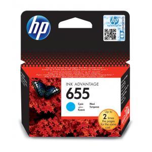 Atrament HP CZ110AE No.655 cyan