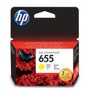 Atrament HP CZ112AE No.655 yellow