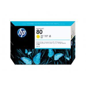 Atrament HP C4848A yellow No.80 350 ml