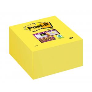 Bloček kocka Post-it Super Sticky 76x76mm žltá 270l