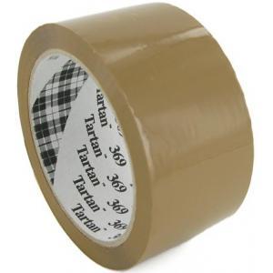 Baliaca páska Tartan 50mmx66m hnedá