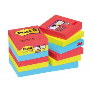 Bločky Post-it Super Sticky Bora Bora 47,6x47,6mm