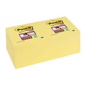 Bločky Post-it Super Sticky 76x76mm žlté