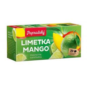 Čaj BOP ovocný limetka, mango 40g