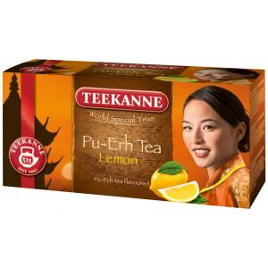 Čaj TEEKANNE Pu-Ehr s citrónom 33g