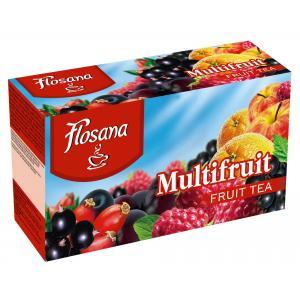 Čaj Flosana Multifruit 40g
