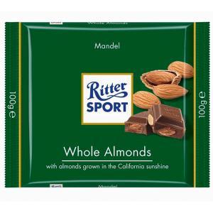 Čokoláda Ritter Sport mandľová 100g
