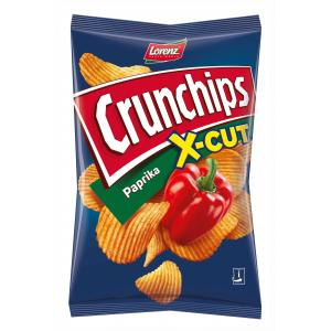 Crunchips X-cut paprika 90g