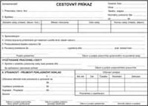 Cestovný príkaz A5 /2000ks