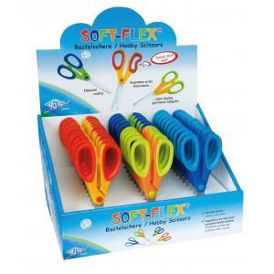 Detské nožnice WEDO Soft Flex (display) rôzne farby