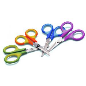 Detské nožnice WEDO Soft-KID pre ľavákov rôzne farby