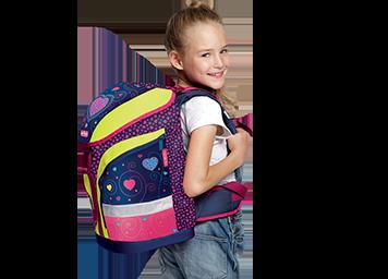 Chráňte chrbát vášho školáka.