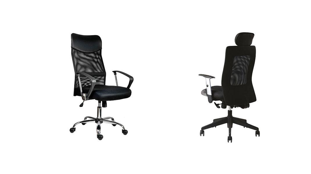 Stoličky pre uľahčenie práce