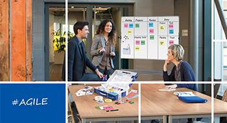 Tabuľa a prezentácia metóda Agile