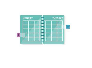"""#1. Vytvorte si """"základňu"""" na plánovanie Vášho nabitého dňa"""