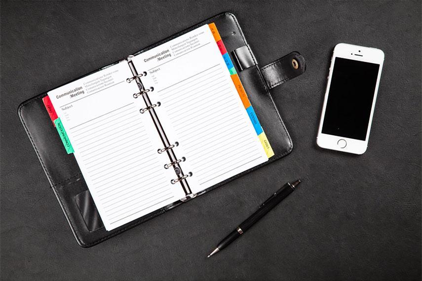 Kalendár vs. diár vs. aplikácia
