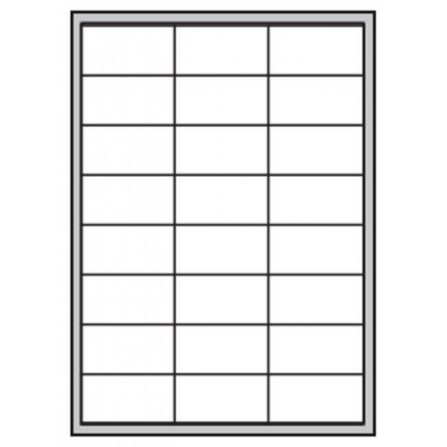 Etikety polyesterové 64,6x33,8