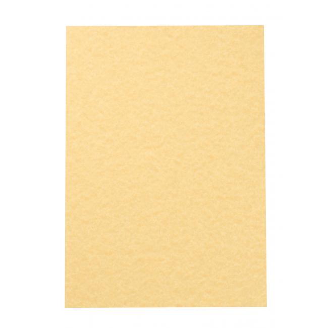 Štrukturovaný papier pergamen zlatá 95g, 25 ks