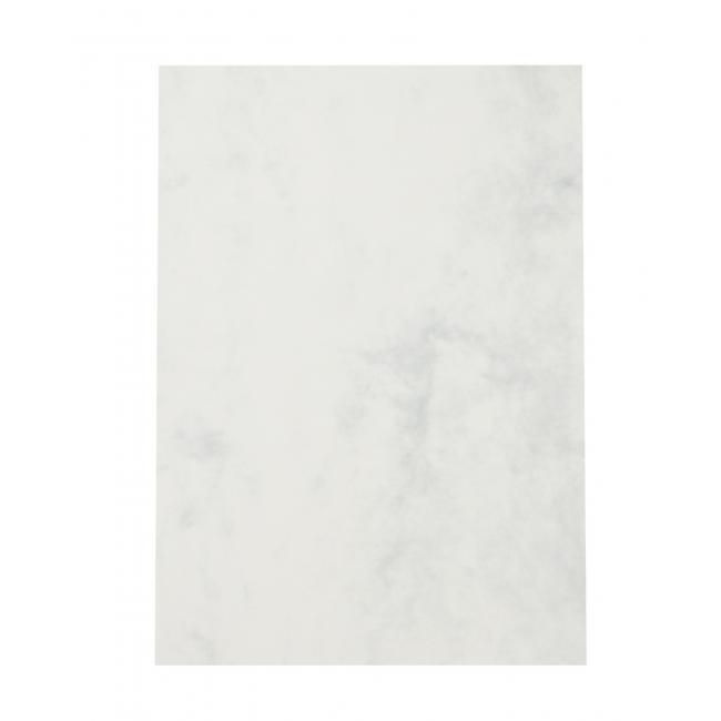 Štrukturovaný papier mramor sivá 95g, 25 ks