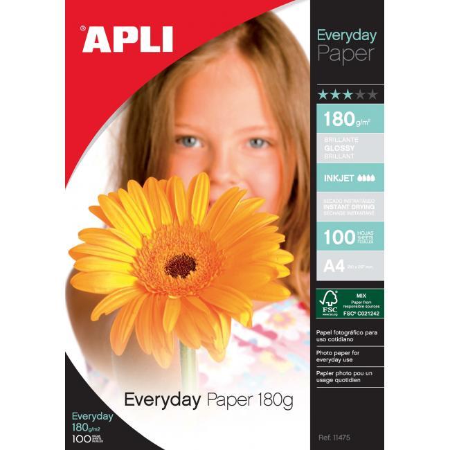 Fotopapier APLI Everyday 180g/20