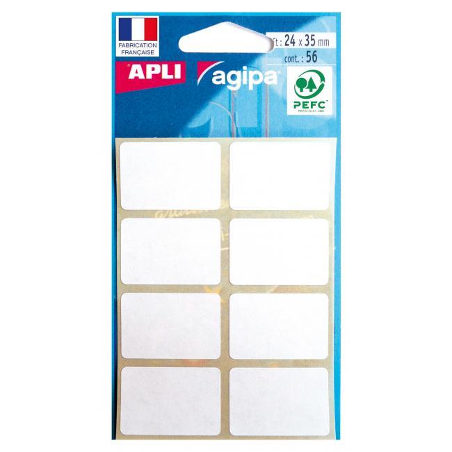 Etikety Agipa , 24x35 mm