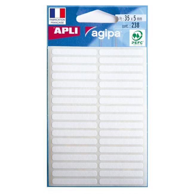 Etikety Agipa , 5x35 mm