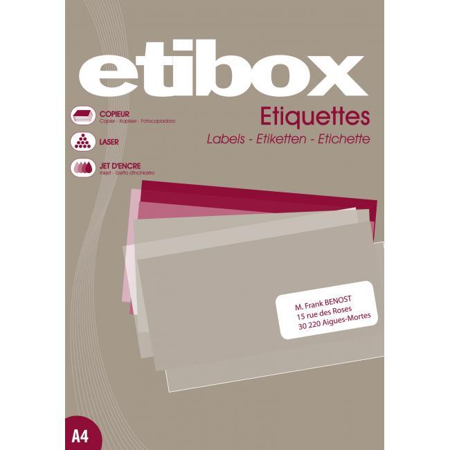 Etikety ETIBOX 38x21,2  100h.