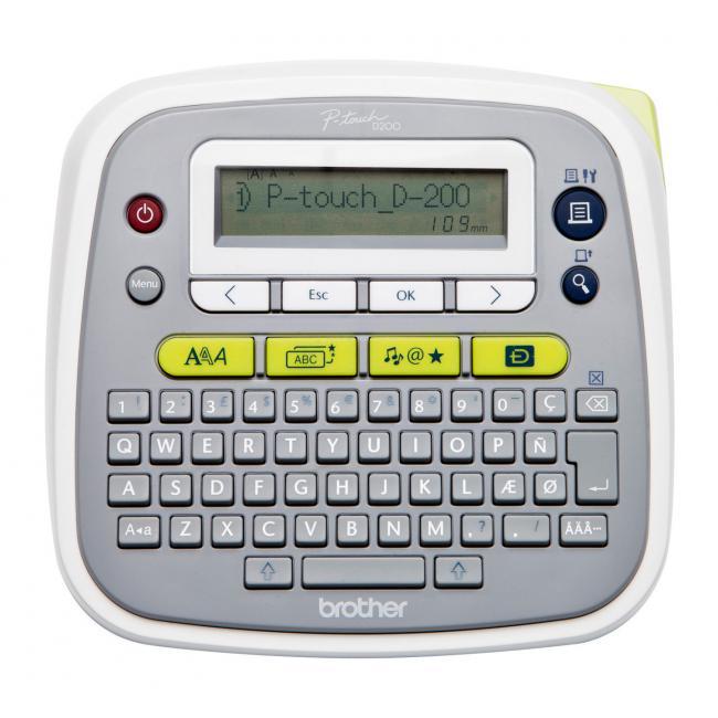 Tlačiareň štítkov PT D200