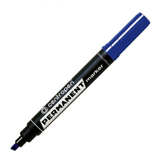 Permanentný popisovač Centropen 8576 modrý