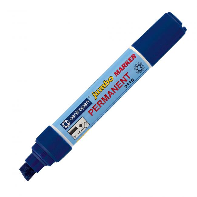 Permanentný popisovač Jumbo 9110 modrý